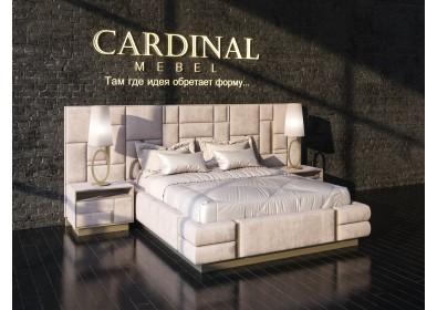 Кровать двуспальная Champagne